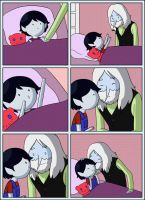Marcy's good night kiss by Snowflake-owl