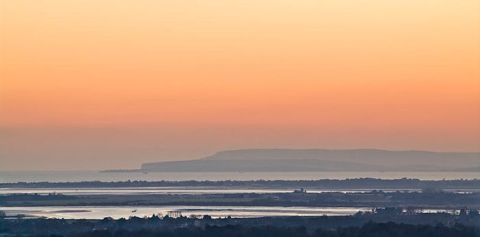 Isle of Wight Dusk by adamlack