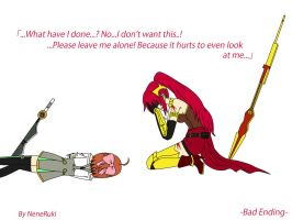 RWBY - Pyrrha's bad ending by NeneRuki