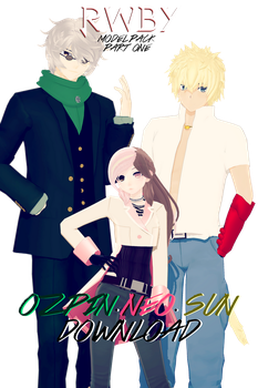 |MMDxRWBY| Ozpin.Neo.Sun (DL CLOSED) by naruchan101