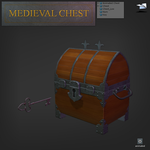 Medieval chest by BenFlex