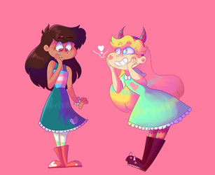It's Marco's Dress Now - Commission by uunicornicc
