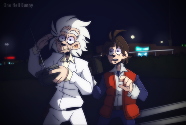 Back to the future by One-hell-bunny