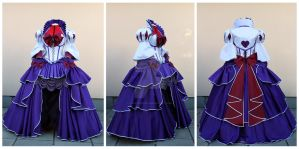 Rococo Sailor Saturn set commission by lady-narven