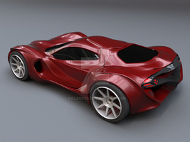Redstone car concept by koleos33