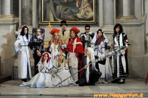 Trinity Blood - The group by Cospoison