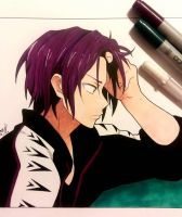 Rin Matsuoka from Free! by anotherartist13