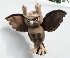 Noctowl Plush 2.0 by Draxorr