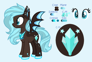 Mlp: .:[COMM]:. Flawless Gem Reference Sheet by BlackTempestBrony