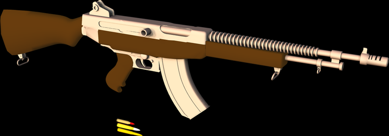 Apollo Assault Rifle by 1Wyrmshadow1