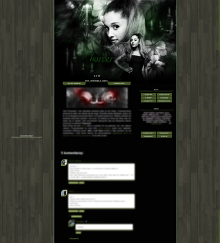 Blog Template by Naaailee by Naaailee