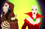 Legacy of Kain:Mortanius and Azimuth. by Sverdy