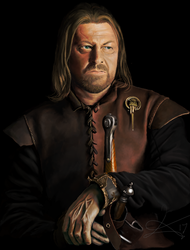 Ned Stark  4/3/17 - 4/7/17 (color corrected) by VooDooDad