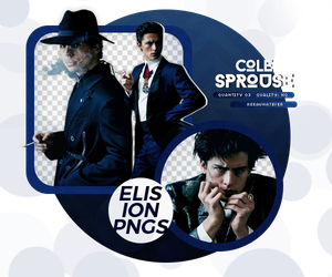PACK PNG 108 // COLE SPROUSE by ELISION-PNGS