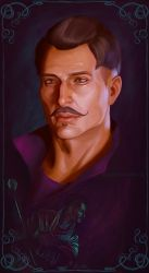 Dragon Age Inquisition: Dorian by zanephiri