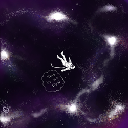 Huevember 15 - Space is the Best by harumeau