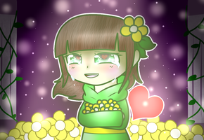 Chara-An Innocent Smile by CutiePachiMelody