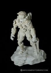 Halo 4 Master Chief Sculpt 5 with Video by xar8