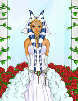Ahsoka Tano - The Wedding Day. 2BBY by Chyche
