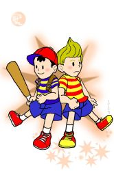 Ness and Lucas by animeninjaNIPPON