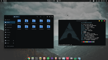 Gnome deepin dark osx by marinos339
