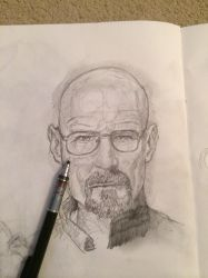 Walter White 20 min sketch by Zootslash
