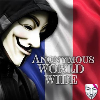 Anonymous World Wide France by Valkyrie-Gaurdian