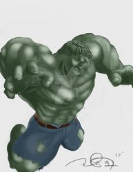 Hulk In Color by MadMexicanMike