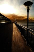 along the pier by awjay