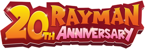 Rayman 20th Anniversary Logo by MarkProductions