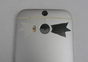 (DIY) Black Wings Kaminari Phone Stickers? by ThistleEverfreen