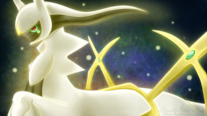 Arceus by Masae