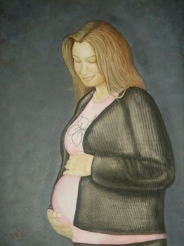 WIP finished Pregant by mandys-creations