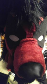 DeadDrool Deadpool Hyena WIP but no NA NA by franchii-manchii