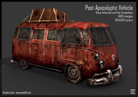 Post Apocalyptic Vehicle by andrei313