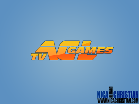 acl games tv logo design by NicaChristian