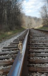 Walking the Rails by AlgeriArts