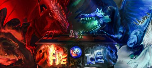 Fire and Ice Convention by stillalivex
