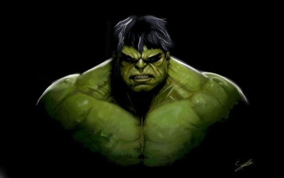 The incredible Hulk by krisboats