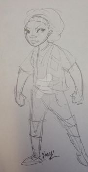 First crack at archaeologist friend character by neotonic