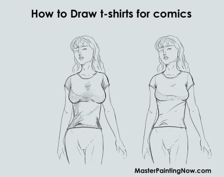 1 How To Draw Tshirts Comics Female by discipleneil777