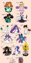Ralts Babehs Galore {Closed} by Lunarmorte