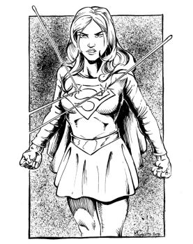 Supergirl by kyle-roberts