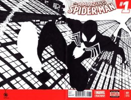 JOHN BYRNE INSPIRED SYMBIOTE SPIDERMAN by deemonproductions