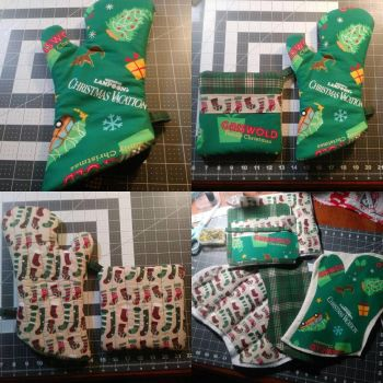 National Lampoons Christmas Vacation Oven Mitt/Hot by MechanicalApple