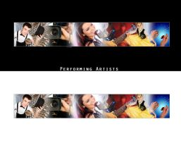 Performing Artists - Banner by enigmaticstudio