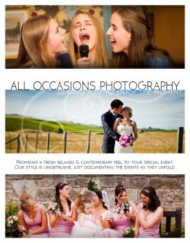 All Occasions Photography Flyer project by EzeKeiL