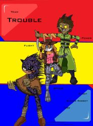Team Trouble by freakin-socrates