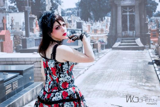 cemetery by puppetmissing