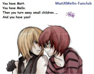 Meaning of Matt And Mello by MattxMello-Fanclub